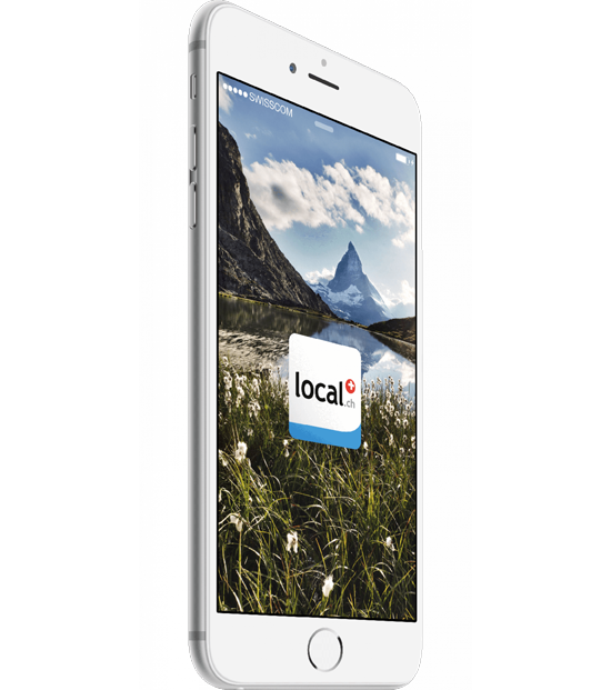 local.ch App - localsearch - Swisscom Directories AG